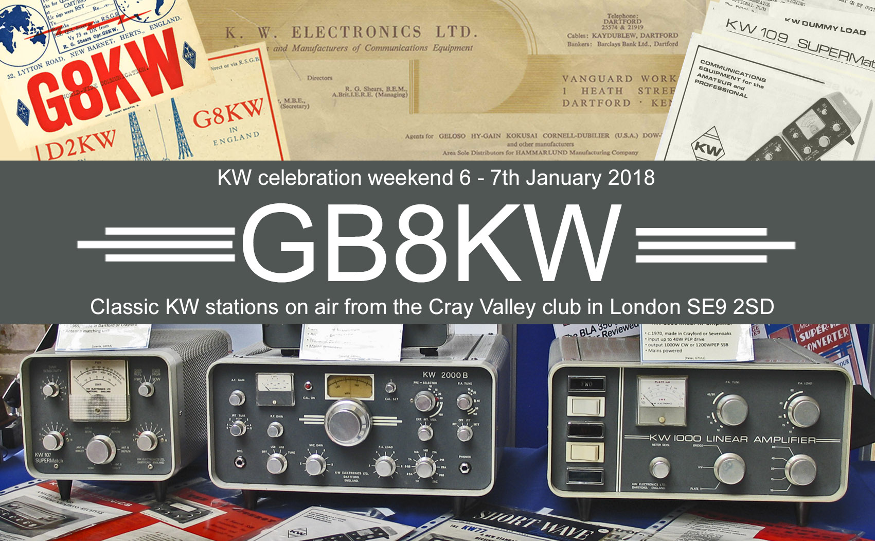 GB8KW QSL Card